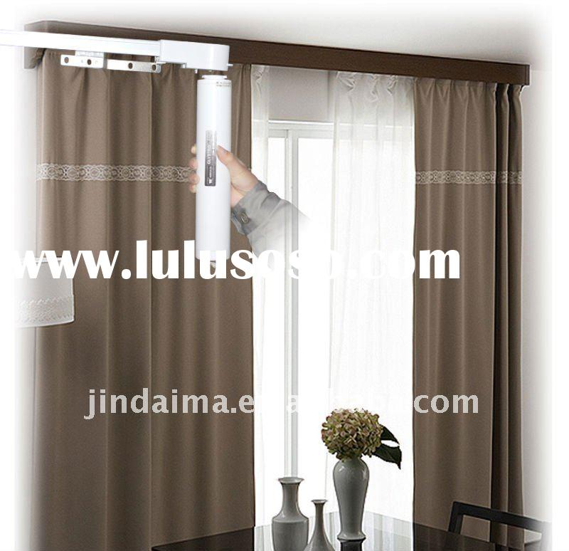 Automatic window curtain(single or double track )