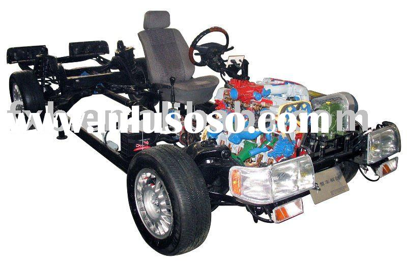 Automobile chassis training equipment
