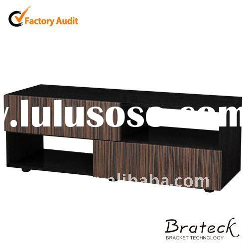 Black tempered glass TV Stand Living Room Furniture