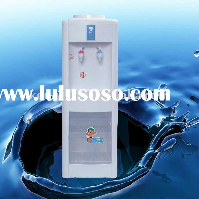 Bottled Floor Standing Normal and Hot Water Dispenser with sterilization cabinet