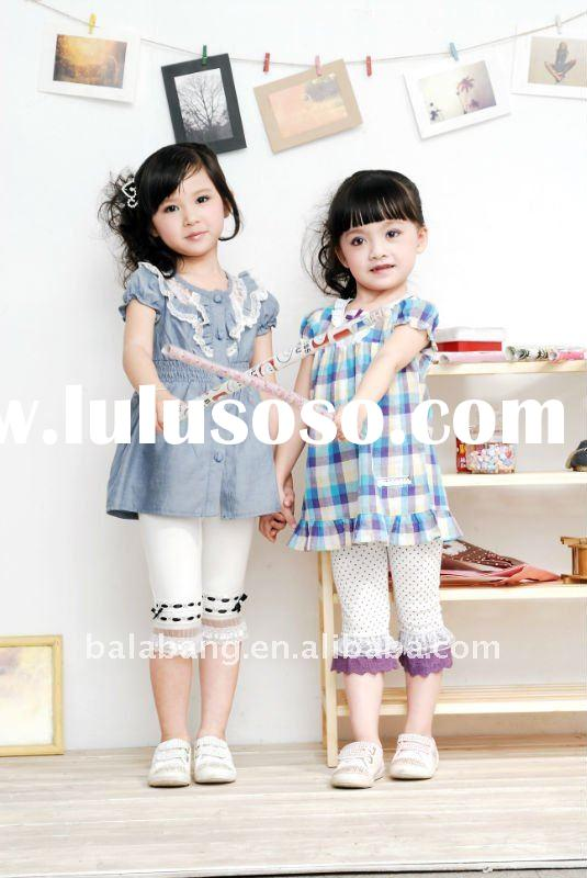 Branded fashion kids clothes --children wear for summer