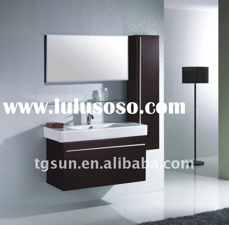 CE Approved Solid Wood Bath Cabinet