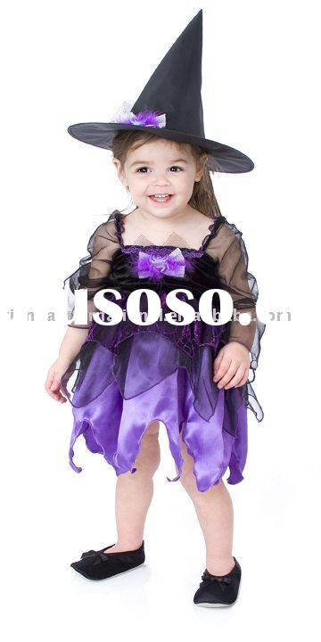 Children's Witch Halloween Costume