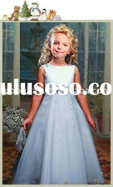 Children's wedding dress, flower girl dress mt012
