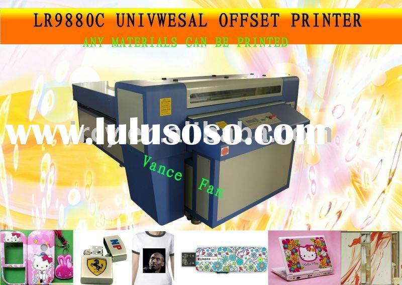 Chinese industrial digital large format metal printing machine A0- 9880