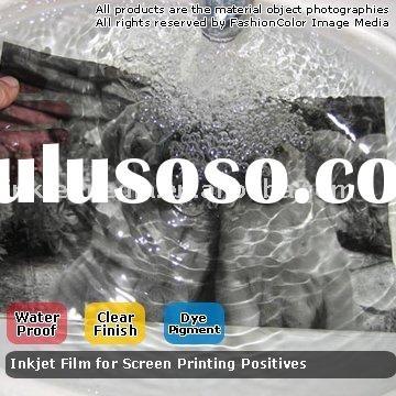 Clear Inkjet Film Waterproof