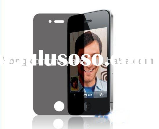 Clear LCD screen protector film for Iphone 4