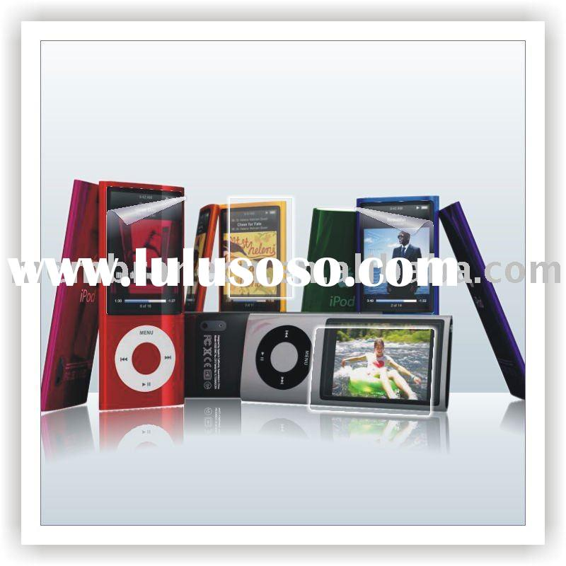 Crystal clear lcd screen protector for iPod Nano