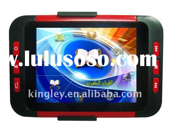 Digital Quran player 3.5inch mp5 + camera +TV out