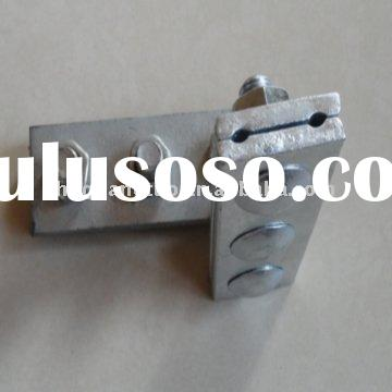 Double-channel hot-dip galvanized cable suspension clamp for power fittings