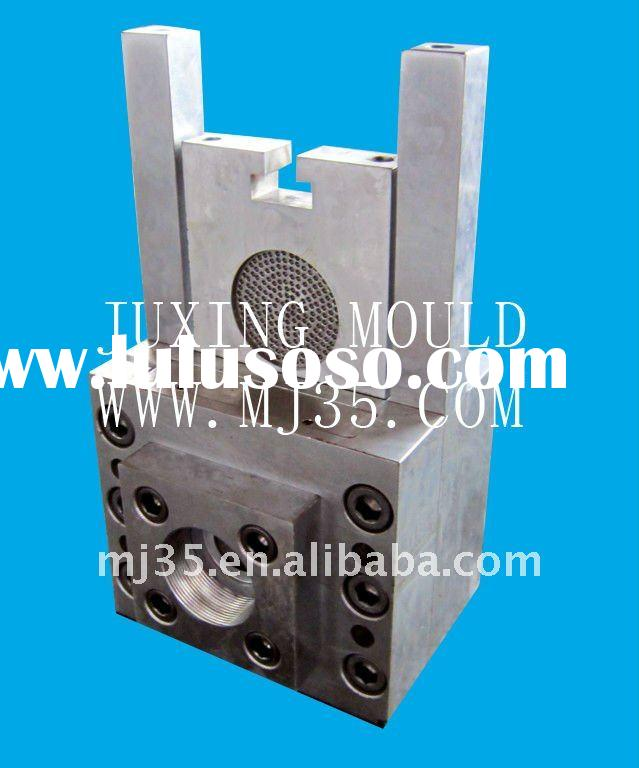 Double-pillar type hydraulic screen changer with double working positon