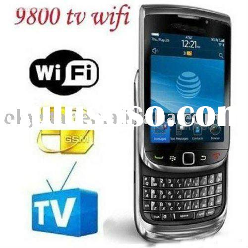 Dual TVsignal touch qwerty keyboard wifi cell phone F9800