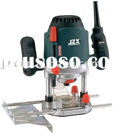 Electric woodworking router