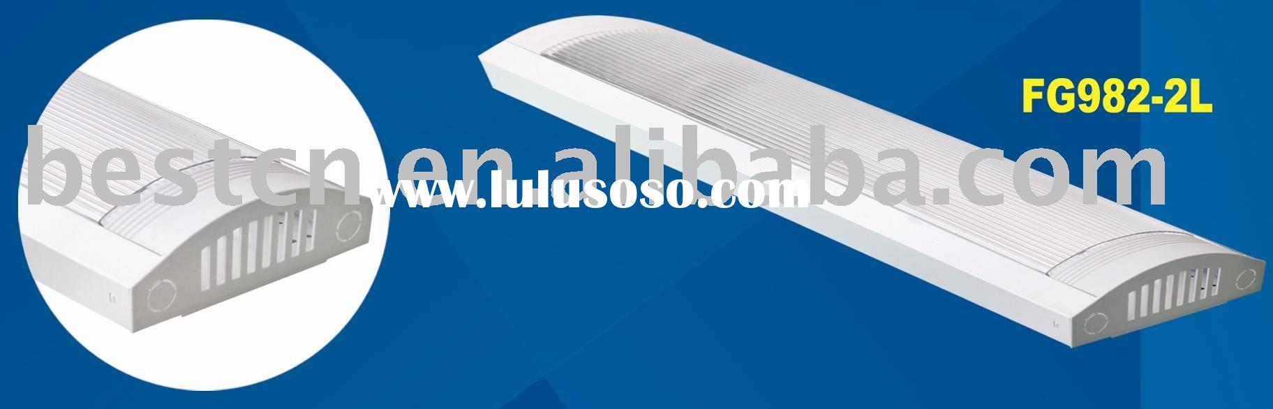 Fluorescent fitting with PS cover T8 2F18W/30W/36W FG982-2L