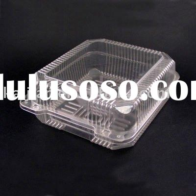 Food grade disposable plastic container