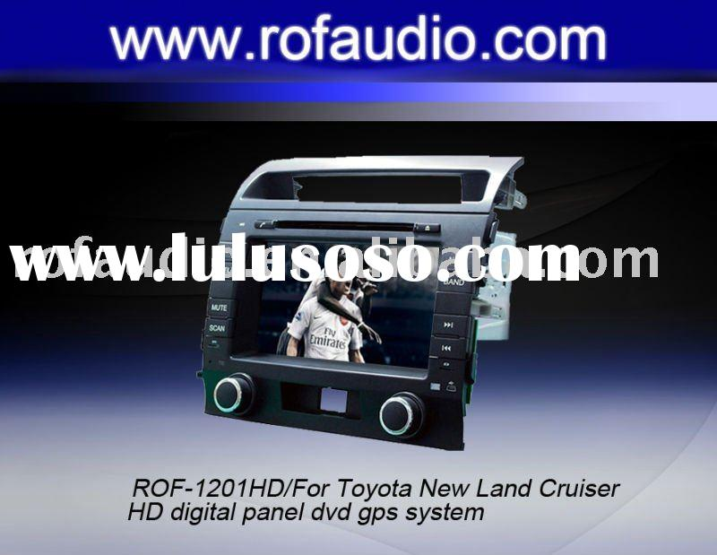 For Toyota New Land Cruiser car dvd player gps