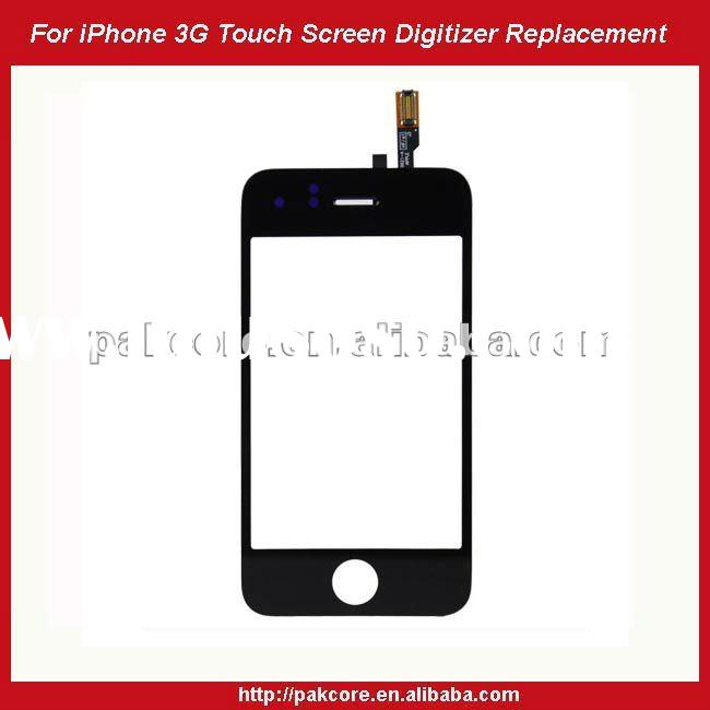 For iPhone 3G Touch Screen Digitizer Replacement