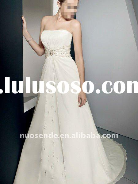 Free Shipping Designer Wedding Gown Designers Wedding Gown Destination Wedding Clothing