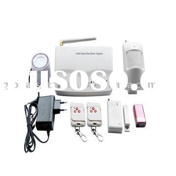 GS-M3 SMS Auto-dial Home/Business GSM Alarm System with Burglar