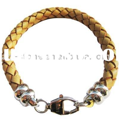 Genuine Leather Rope Bracelet