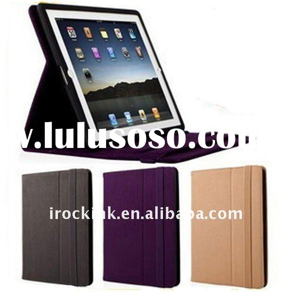 Genuine leather case/PU leather case/Leather cover for ipad 2