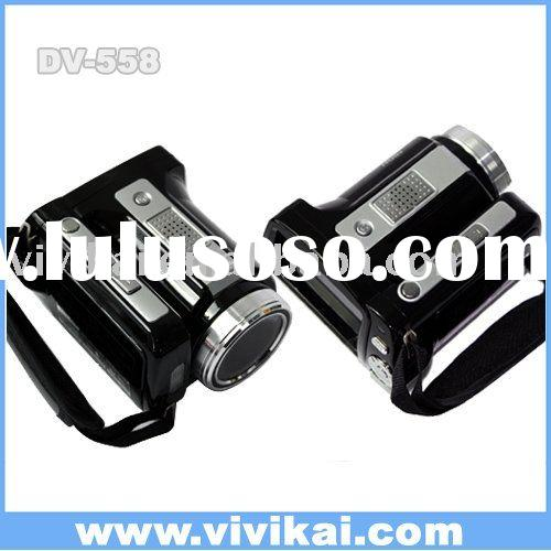 Good quality and low price digital video camera with MP3 player, 2.4 inch color screen,vivikai DV-55