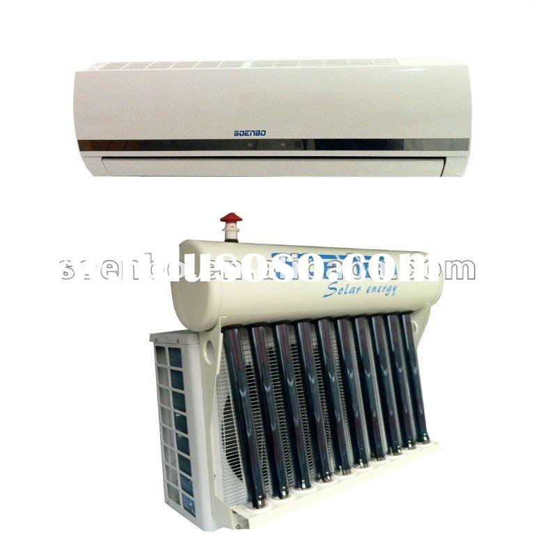 High efficient heat exchange hybrid solar air conditioner,split wall mounted type solar air conditio