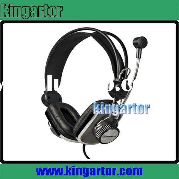 High quality computer solid headphone with mic