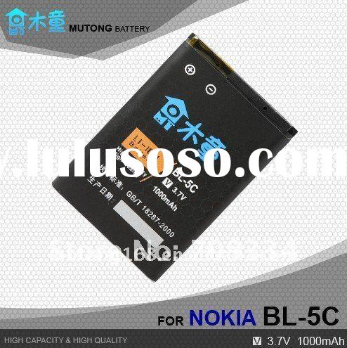 Hot Sale ! High Capacity BL5C Battery For Nokia