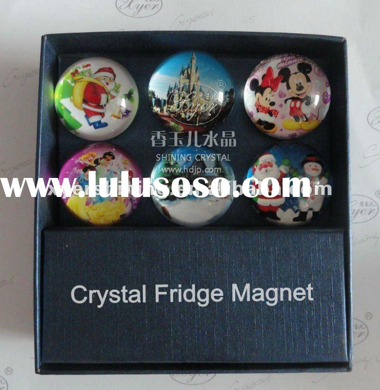 Hot Selling Crystal Fridge Magnet for Promotion
