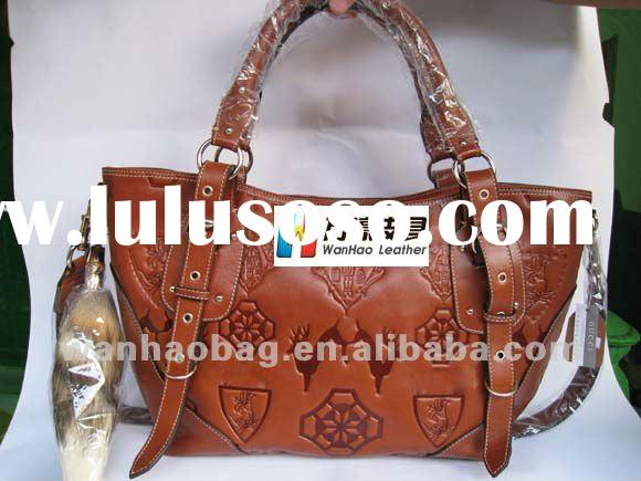Hottest ,Newest fashion trendy brand ladies handbag Tote leather bags,189903