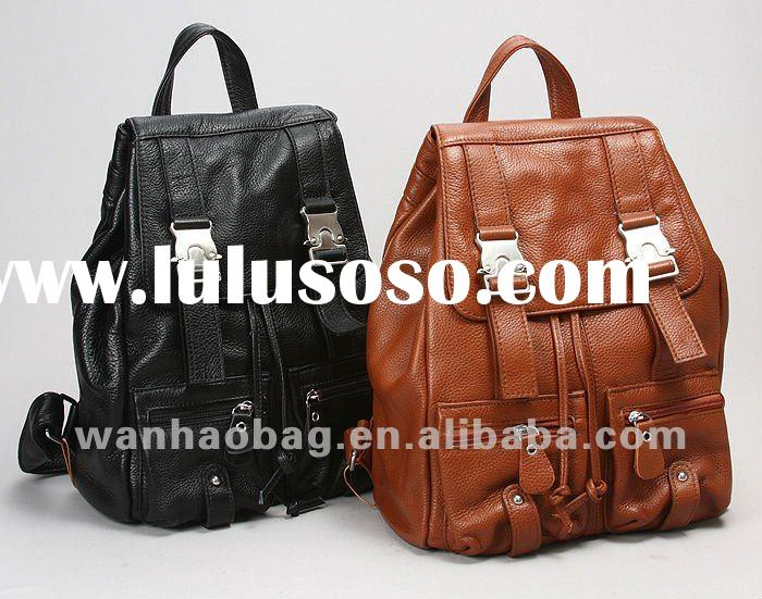 Hottest fashion ladies leather backpack bags/handbag/purse,WH7663