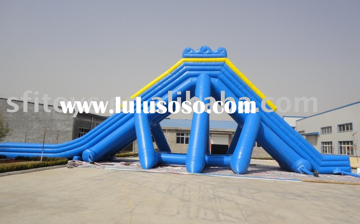 Inflatable huge water slide for water park