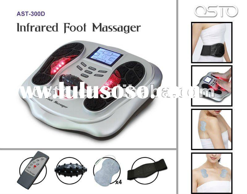 Infrared vibrating foot massager(2012 new product)
