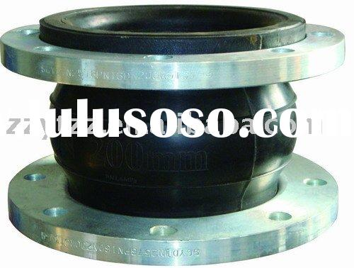 Well known flanged flexible jgd rubber coupling
