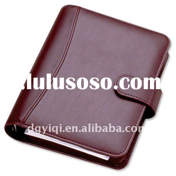 LN-323 Leather Cover Loose Leaf Notebook