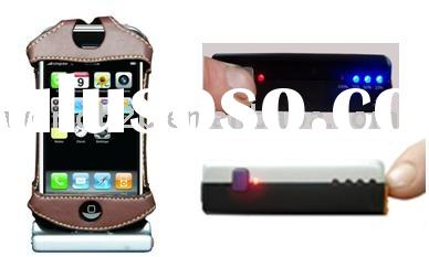 Leather case&Solar charger for iPhone 3G