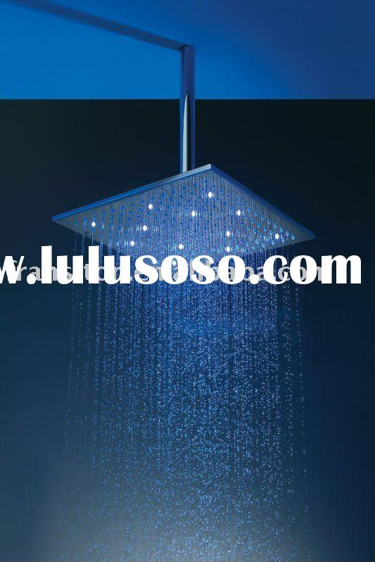 Led shower head(glass shower head)
