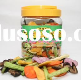 Low Temperature Vacuum Fried Vegetable and Fruits ( Healthy Snack)