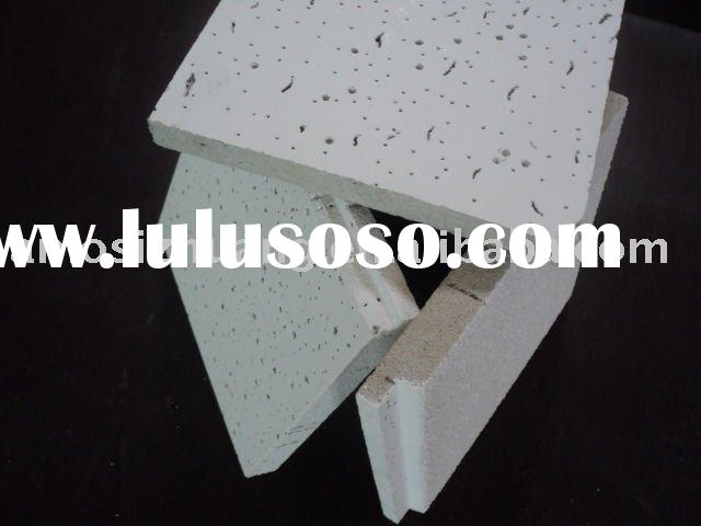 Low density Sound absorption Mineral Fiber Ceiling