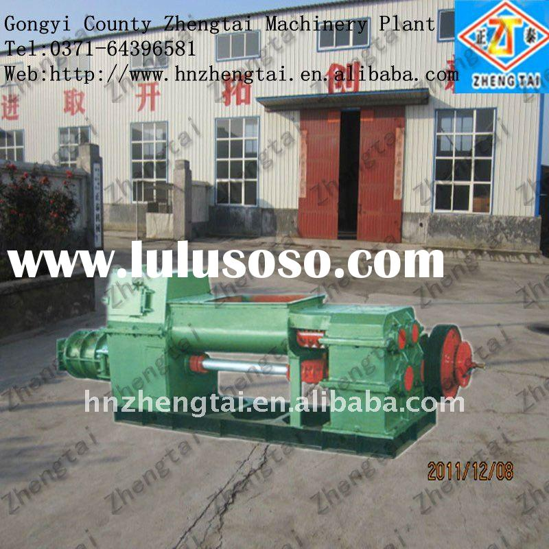 Low investment and high profit !! clay block making machine