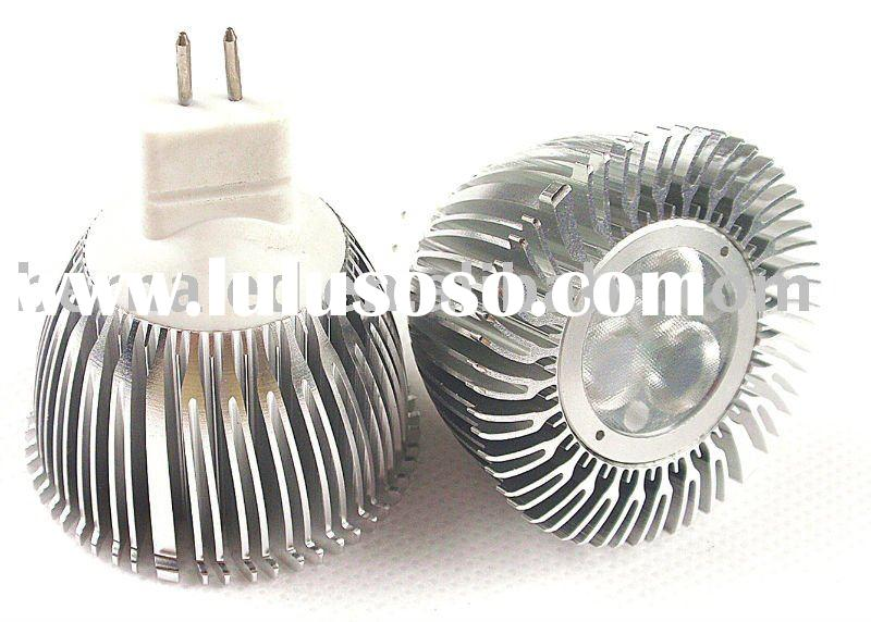 MR16/GU5.3 dimmable led lamp 3x1W