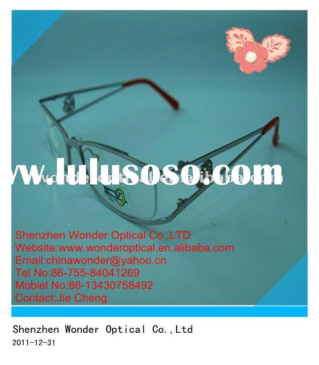 Male Stylish Design Eyewear Full Frame Metal Glasses (A10)