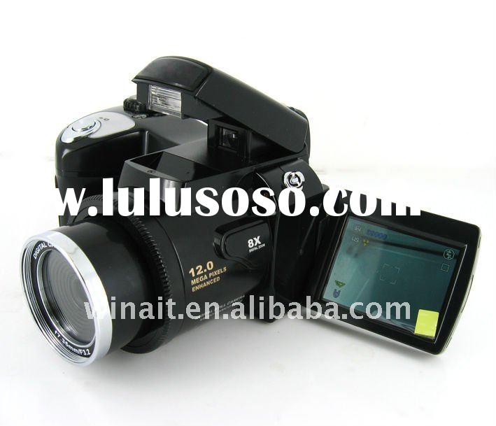 Maximum 12MP 5-in-1 Multi Function Professional Digital Cameras with Dual Power Supply