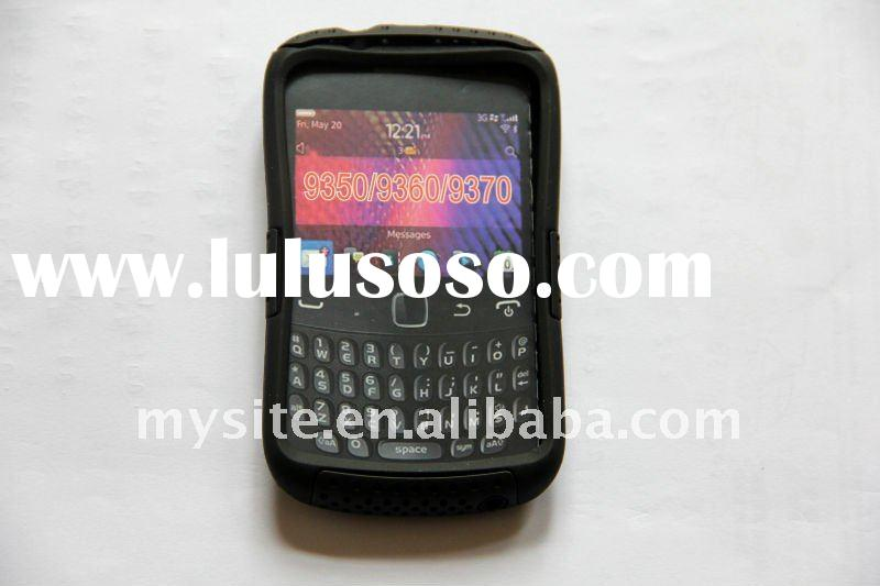 Mesh Combo Cell Phone Cases With Design for Blackberry Curve 9350/9360/9370