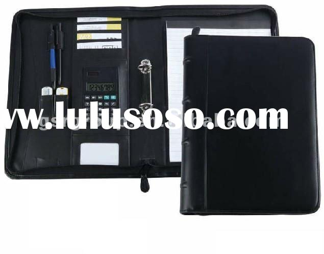 Multi Function A4 Size Conference Holder with 20 Sheet of Notepad