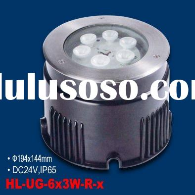 NEW 6x3W high power LED underground lamp