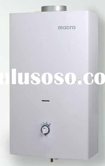 Natural exhaust type gas water heater