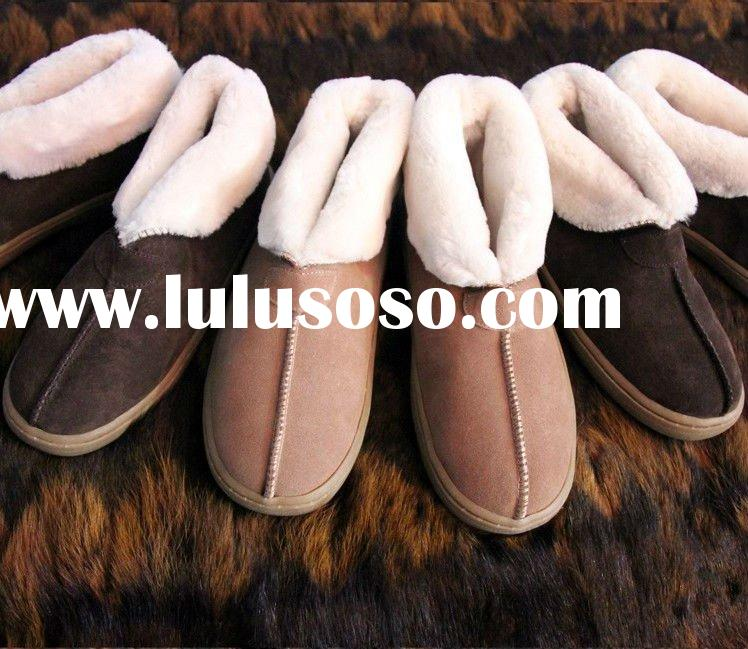 New 2012 Sheepskin Mubo bedroom slippers