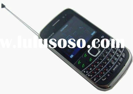 New 4 Sim card cell phone 4 standby TV mobile phone qwerty S3 cell phone unlocked phone cheap phone